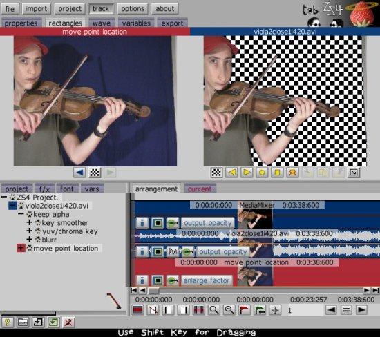 ZS4 Video Editor Screenshot